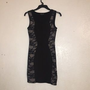 Wet seal black mini dress